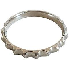 Georg Jensen Sterling Silver Bangle Bracelet Nanna Ditzel #160