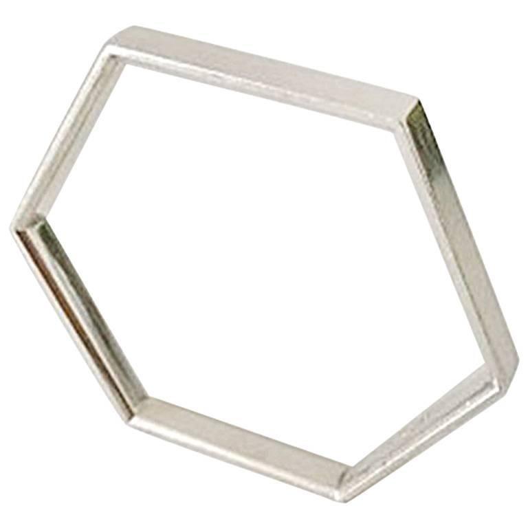 Georg Jensen Sterling Silver Bracelet/Bangle #177