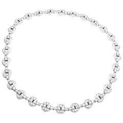 Cartier Orissa 9.17 Carat Diamond White Gold Necklace