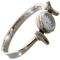 Georg Jensen Sterling Silver Torun Wristwatch #231