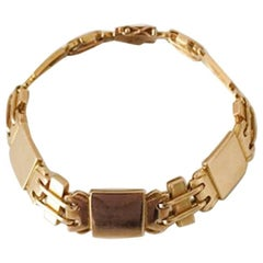 Georg Jensen 18 Karat Gold Bracelet No 287 from 1933-1944