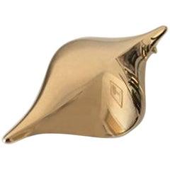 Hans Hansen Modern Brooch in 18 Carat Gold No 106