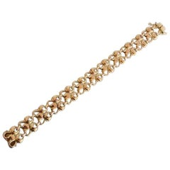 Georg Jensen 14 Karat Gold Bracelet No 346