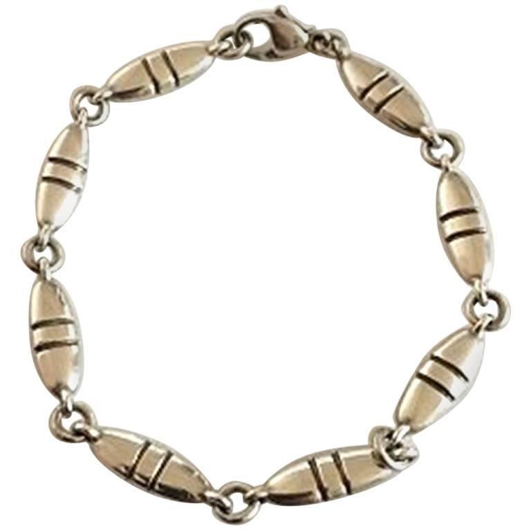 Georg Jensen Sterling Silver Bracelet No 391