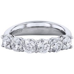 H & H 1.80 Carat Diamond Band Ring