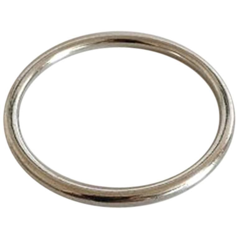Hans Hansen Sterling Silver Bangle Bracelet #204