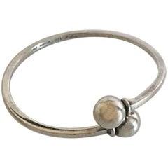 Hans Hansen Sterling Silver Bangle Bracelet #207
