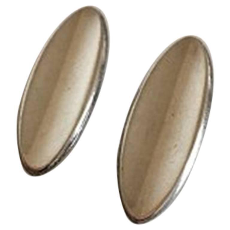 Hans Hansen Sterling Silver Earrings No 427