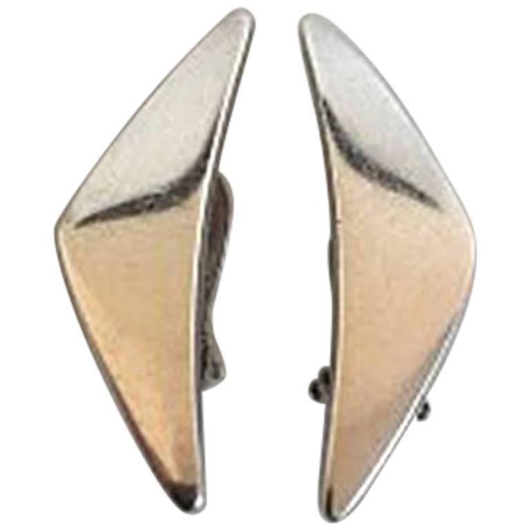 Hans Hansen Sterling Silver Earring No 432