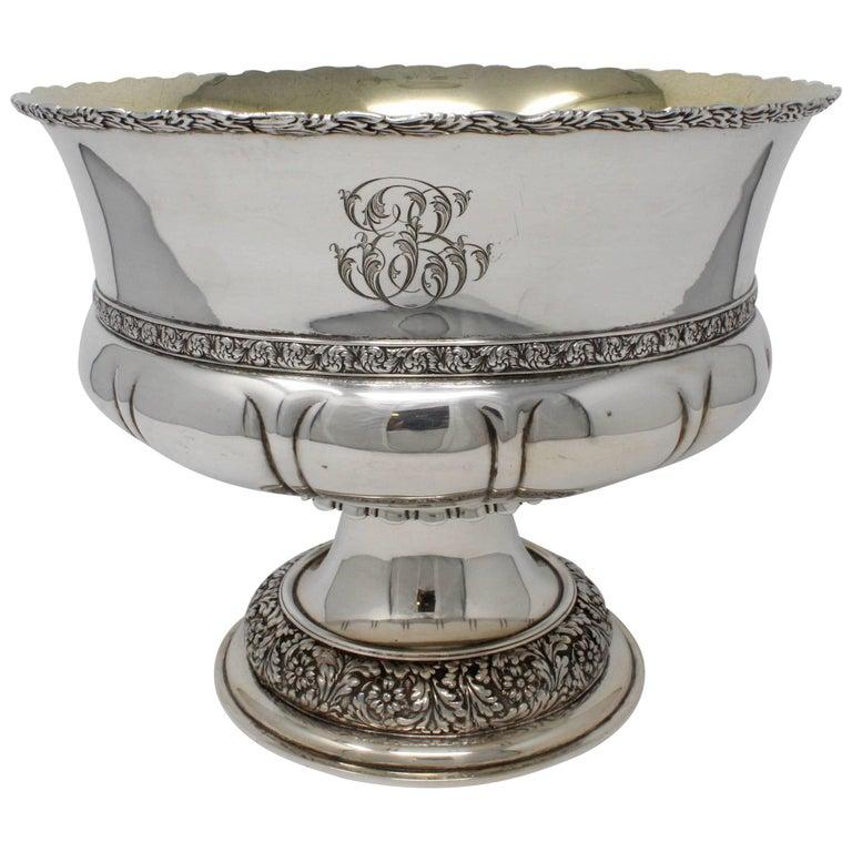 SS Tiffany & Co. Pedestal Bowl, circa 1891-1902