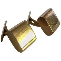 Hans Hansen 14 Karat Gold Cufflinks No 605