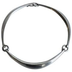 Hans Hansen Sterling Silver Necklace