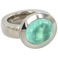 Paraiba Tourmalin Gold Ring by Jochen Pohl