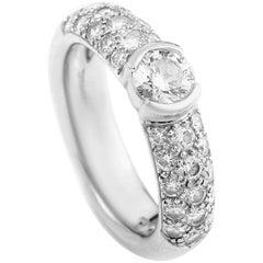 Tiffany & Co. Etoile Platinum and Diamond Engagement Ring