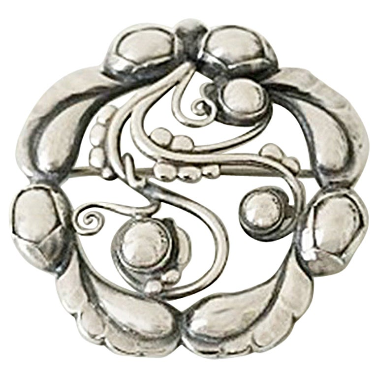 Georg Jensen Sterling Silver Brooch #159