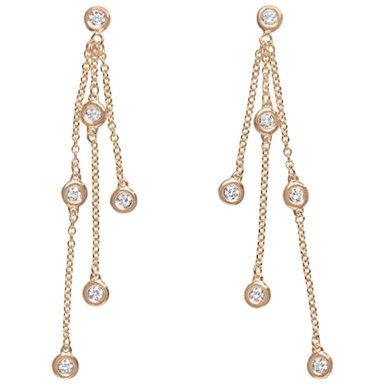 Diamond by the Yard 12 Station Earring