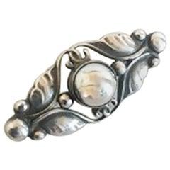 Georg Jensen Sterling Silver Brooch #224A