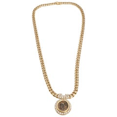 Bulgari Monete Chain Necklace