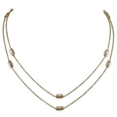 Bulgari Gold Parentesi Necklace