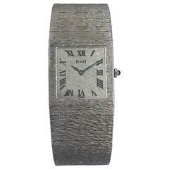 Piaget White Gold Manual Wind Wristwatch