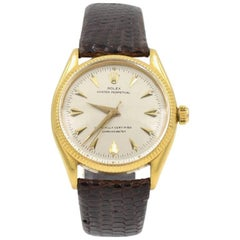 Rolex yellow Gold Oyster Perpetual Chronometer Wristwatch Ref 6567, circa 1967