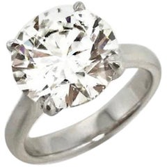 Gilin GIA Certified Solitaire Diamond Engagement Ring