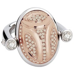 Colleen B. Rosenblat Diamonds Scarab Ring