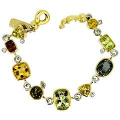 """Magnificent Gemstone Bracelet """"Highlands Way"""""""