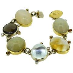 """Magnificent Gemstone Bracelet """"Moonbeam"""""""