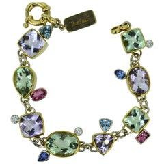 """Magnificent Gemstone Bracelet """"Parfait"""""""
