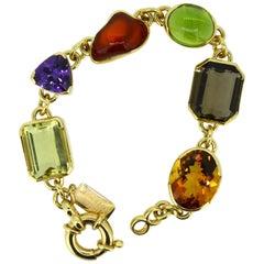 """Magnificent Gemstone Bracelet """"Oriental Fantasy"""""""