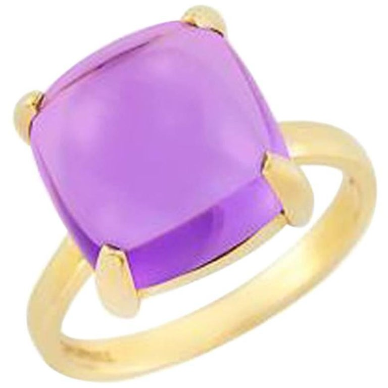 Tiffany & Co. Paloma Picasso Amethyst Cabochon Ring
