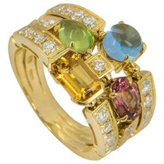 Bulgari Yellow Gold Allegra Ring