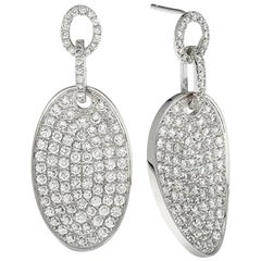 Emilio Jewelry One of a Kind Micro Pave Diamond Earrings