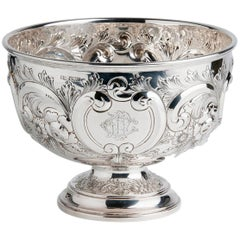 Fine Sterling Silver '925‰' Bowl, Lee & Wigfull 1894-1895 Sheffield