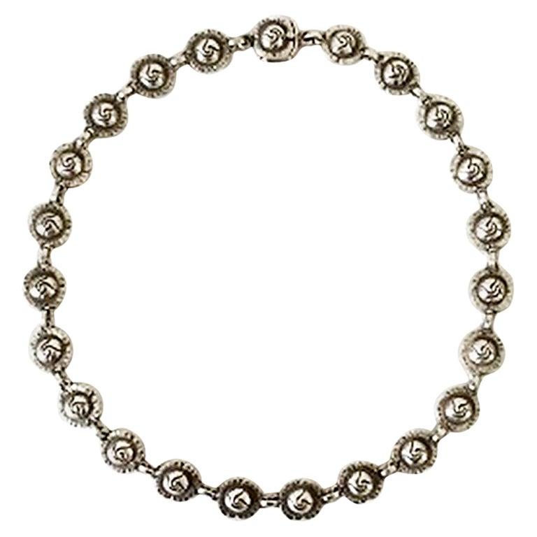 Georg Jensen Sterling Silver Necklace No 42