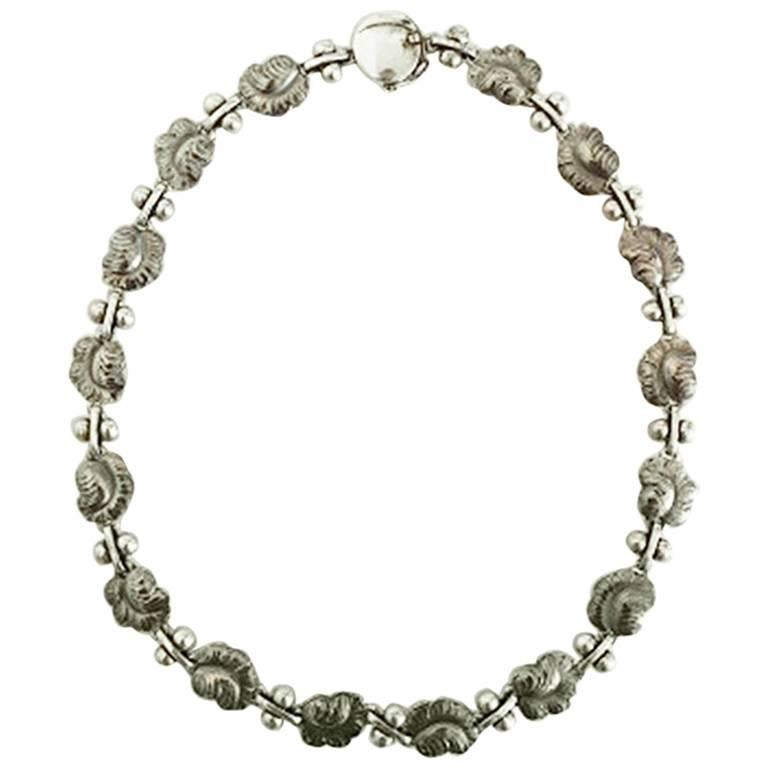 Georg Jensen Sterling Silver Necklace No 96A