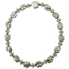 Georg Jensen Sterling Silver Necklace No 96
