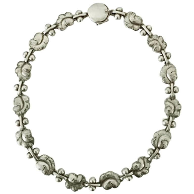 Georg Jensen Sterling Silver Necklace No 96