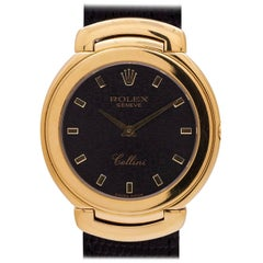 Rolex Yellow Gold Cellini Quartz Wristwatch Ref 6623, circa 1990s