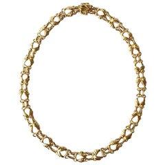 Georg Jensen 18 Karat Gold Necklace No 249
