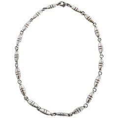 Georg Jensen Sterling Silver Necklace No 391