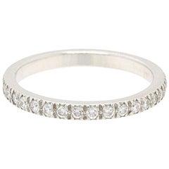 Tiffany & Co. Novo Diamond and Platinum Full Circle Wedding Band Ring