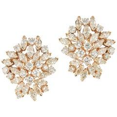 18 Karat Elegant Diamond Earring