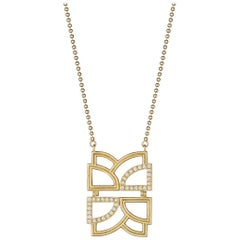 Doryn Wallach Collins Diamond Necklace