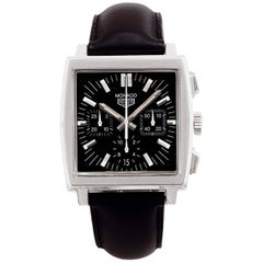 TAG Heuer Stainless steel Monaco Chronograph automatic Wristwatch
