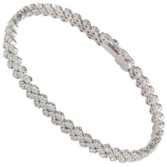 Diamond Line Bracelet 4.6 Carat