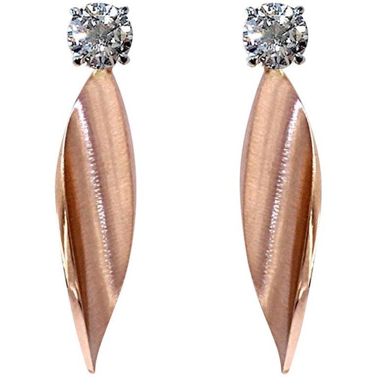 Certified White Diamond Earring Studs Three Pairs of Interchangeable Pendants