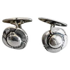Georg Jensen Sterling Silver Cufflinks No 9