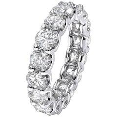 5.70 Carat Diamond Eternity Ring